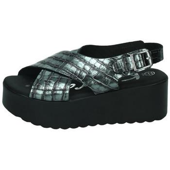 Chaussures Femme Sandales et Nu-pieds Karralli  Gris