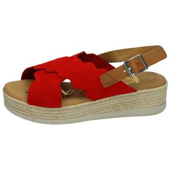 Chaussures Femme Sandales et Nu-pieds Karralli  Rouge
