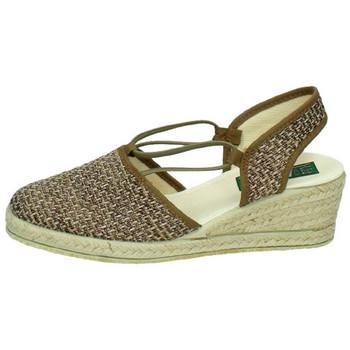Chaussures Femme Sandales et Nu-pieds Isasa  Marron
