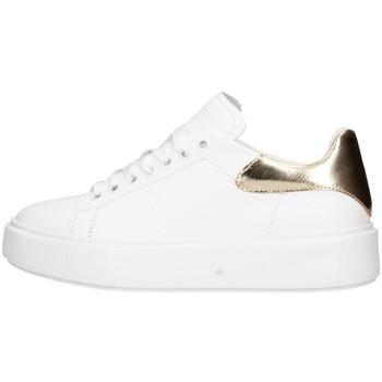 Chaussures Femme Baskets basses Frau 4173 chaussures de tennis Femme Blanc / Or Blanc / Or