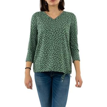 Vêtements Femme T-shirts manches longues Street One 314667 22202 thyme jade vert