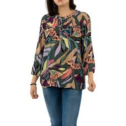 Vêtements Femme T-shirts manches longues Street One 341912 32217 dark thyme vert