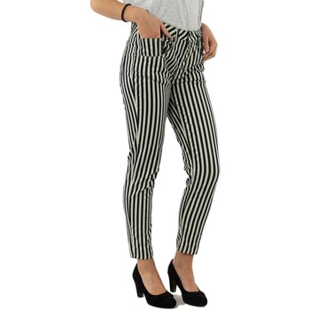 Vêtements Femme Pantalons Please p1ym 2136 bianco/blu blanc