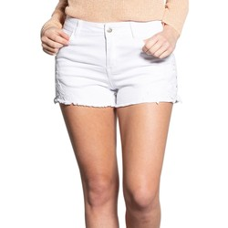 Vêtements Femme Shorts / Bermudas Deeluxe Short MADISON Off White