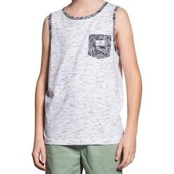 Vêtements Garçon Débardeurs / T-shirts sans manche Deeluxe Débardeur SHAMI Natural