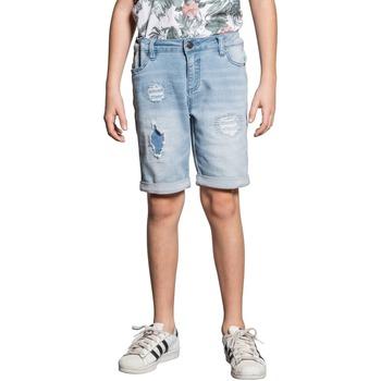 Vêtements Garçon Shorts / Bermudas Deeluxe Short BULLET Bleach Used