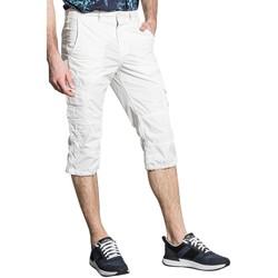 Vêtements Homme Pantacourts Deeluxe Pantalon RIVER Natural