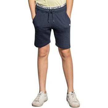 Vêtements Garçon Shorts / Bermudas Deeluxe Short SAIMAN Navy