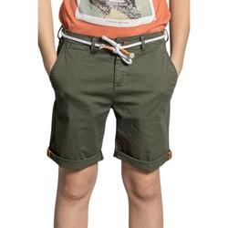 Vêtements Garçon Shorts / Bermudas Deeluxe Short KARMA Olive