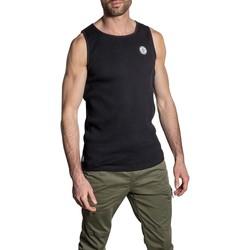 Vêtements Homme Débardeurs / T-shirts sans manche Deeluxe Débardeur JINOSON Black