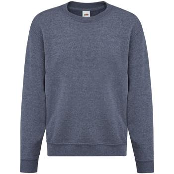 Vêtements Enfant Sweats Fruit Of The Loom 62041 Bleu marine chiné