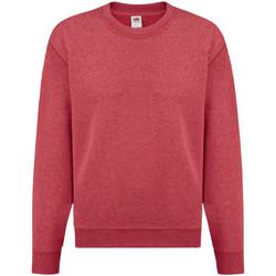 Vêtements Enfant Sweats Fruit Of The Loom 62041 Rouge chiné