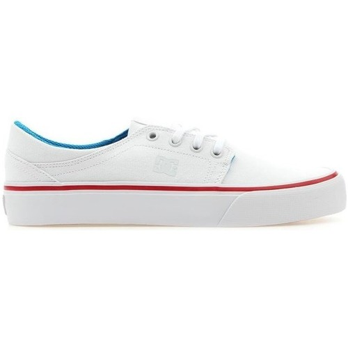 Trease TX  DC Shoes  baskets basses  femme  blanc