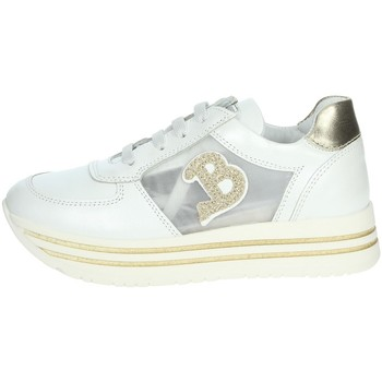 Chaussures Fille Baskets basses Balducci 30101002 Blanc/Or