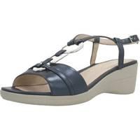 Chaussures Femme Sandales et Nu-pieds Stonefly VANITY III 15 GOAT L Bleu
