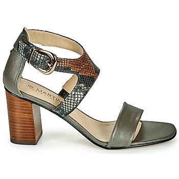 Chaussures Femme Sandales et Nu-pieds JB Martin 1NAWELI Olive