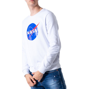 Vêtements Homme Sweats Nasa NS07U Blanc