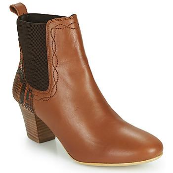 Chaussures Femme Bottines Ravel MOA Camel