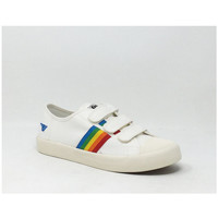 Chaussures Baskets basses Gola COASTER RAINBOW VELCRO BLANC/MULTI Blanc