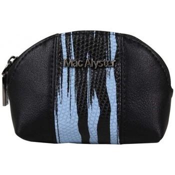 Sacs Femme Porte-monnaie Mac Alyster Petit porte monnaie à zip déco bicolore  079A bleu