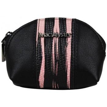 Sacs Femme Porte-monnaie Mac Alyster Petit porte monnaie à zip déco bicolore  079A rose