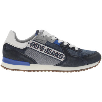 Chaussures Homme Baskets mode Pepe jeans - chaussures BLEU MARINE