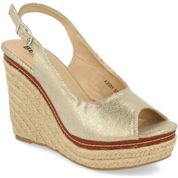 Chaussures Femme Espadrilles Benini A2001 Plata