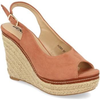 Chaussures Femme Espadrilles Benini A2001 Rosa