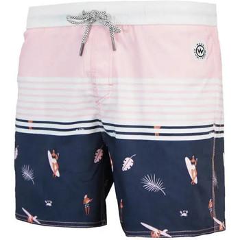 Vêtements Homme Maillots / Shorts de bain Waxx Short de bain SURFING Bleu