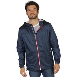 Vêtements Homme Vestes Waxx Coupe-vent Homme RAINY Bleu