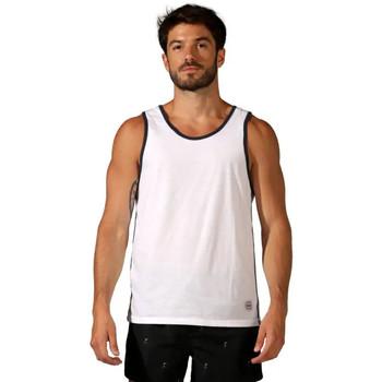 Vêtements Homme Débardeurs / T-shirts sans manche Waxx Débardeur COLOR BANDS Blanc