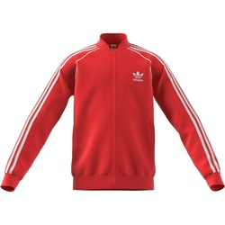 Vêtements Garçon Sweats adidas Originals SUPERSTAR TOP GIACCHETTO BAMBINI ROSSO Rouge