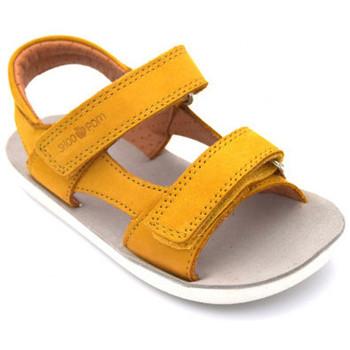 Chaussures Garçon Sandales et Nu-pieds Shoo Pom goa boy scratch Jaune