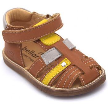 Chaussures Garçon Sandales et Nu-pieds Bellamy donjon Marron