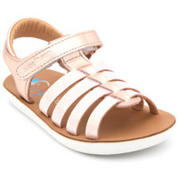 Chaussures Fille Sandales et Nu-pieds Shoo Pom goa spart metal rose