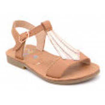 Chaussures Fille Sandales et Nu-pieds Shoo Pom happy tie Marron