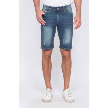 Vêtements Homme Shorts / Bermudas Ritchie Bermuda en jean BELIF Bleu