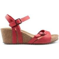 Chaussures Femme Sandales et Nu-pieds Interbios W confortables sandales compensées RED