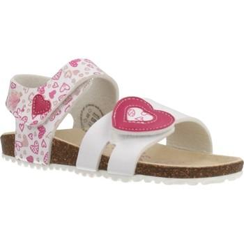 Chaussures Fille Sandales et Nu-pieds Garvalin 202661 Blanc