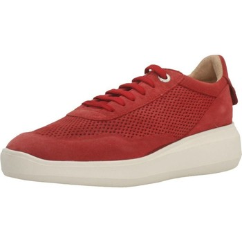 Chaussures Femme Baskets mode Geox D RUBIDIA E Rouge