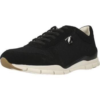 Chaussures Femme Baskets basses Geox D SUKIE A Noir