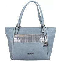 Sacs Femme Cabas / Sacs shopping Mac Alyster Sac trapèze  A4 déco sequin Bleu Multicolor