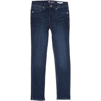 Vêtements Garçon Jeans droit Kaporal Jeans garçon délavé Bleu