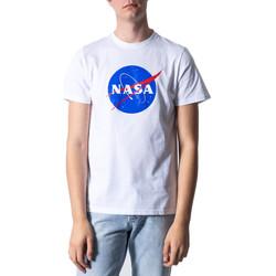 Vêtements Homme T-shirts manches courtes Nasa NS01U Blanc