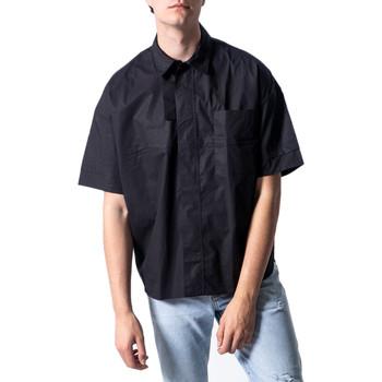 Vêtements Homme Chemises manches courtes Antony Morato MMSS00162-FA450009 Noir