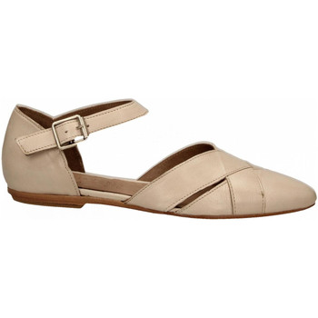 Chaussures Femme Ballerines / babies Hundred 100 VITELLINO ecru