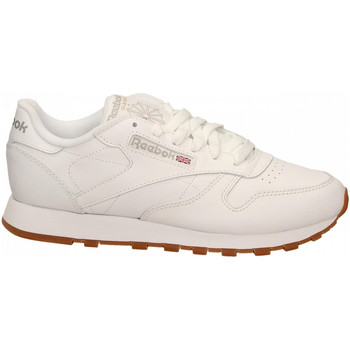 Chaussures Femme Fitness / Training Reebok Sport CL LTHR white-gum