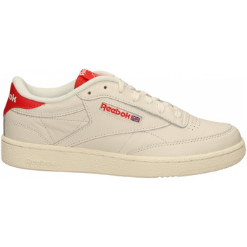 Chaussures Homme Fitness / Training Reebok Sport CLUB C 85 MU chalk-radred-humblu