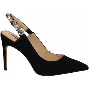 Chaussures Femme Escarpins Luciano Barachini CAMOSCIO nero