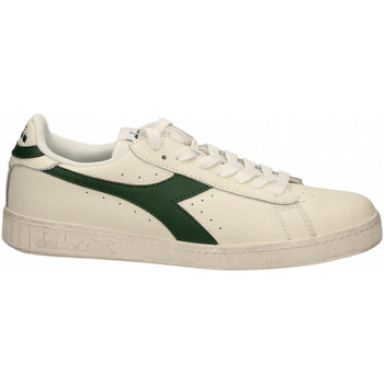 Chaussures Baskets basses Diadora GAME L LOW WAXED c1161-bianco-fogliam